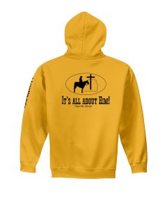 PTCC-B00581 Youth Heavy Blend Hooded Sweatshirt Gold